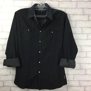Airwalk NWT Long Sleeve Button Up Men's Shirt
